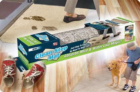Clean Step Doormat - 10 genius cleaning products that every lazy person needs