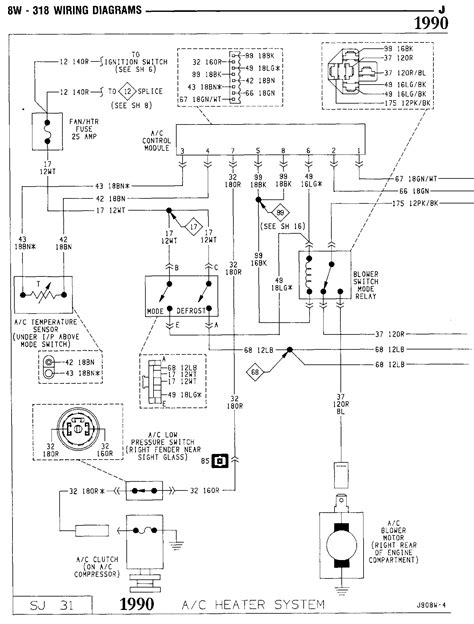 car electrical wiring wiper motor wiring diagram for j10