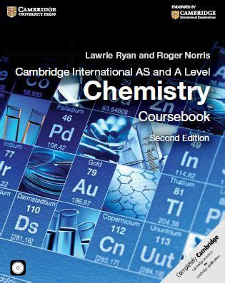 libro cambridge international as level free download cambridge international as and a level chemistry coursebook 2e in pdf https
