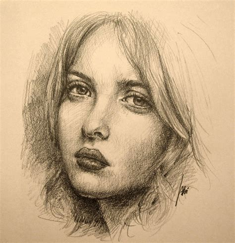 Portraits And Sketches by Amazing Portrait Sketches How To Draw A Portrait Of