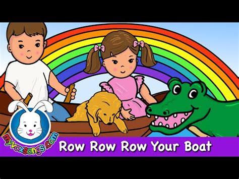 row row row your boat lyrics german row your boat
