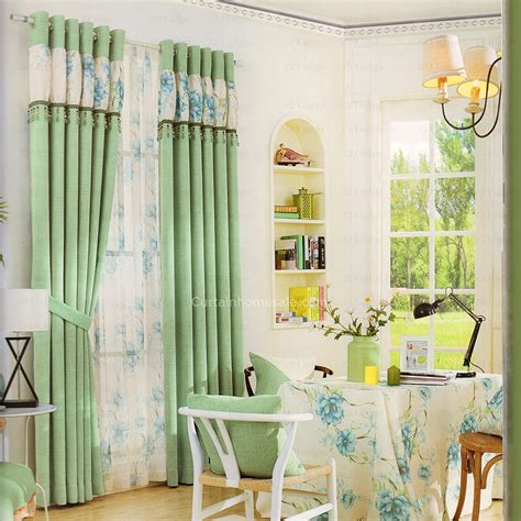 green living room curtains fresh green linen living room curtains 2016 new arrival