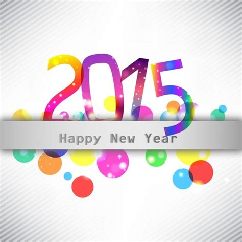 new year logo design 2015 happy new year 2015 illustration free vector in adobe