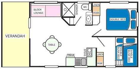 bunk room floor plans 2 bedroom ensuite cabins bacchus marsh caravan park