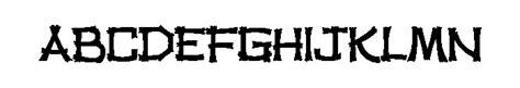 Tiki Hut Font tiki hut font whatfontis