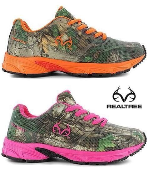 camouflage athletic shoes realtree wear i put my jacket the