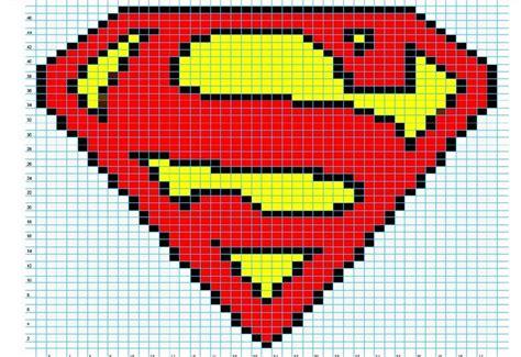 cross stitch pattern superman logo superman cross stitch pattern cross stitch pinterest
