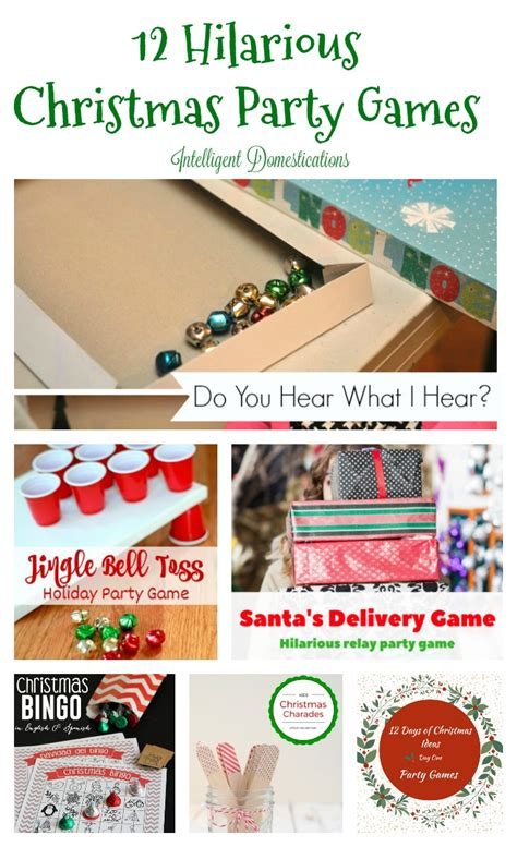 diy christmas party games for groups 12 made in a day