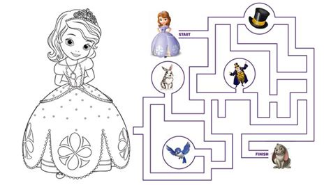 princess ivy coloring pages sofia the first the curse of princess ivy coloring page