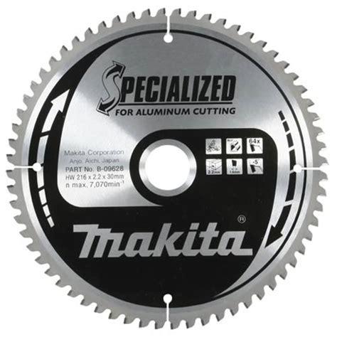 Makita B 09634   Makita Aluminium 250mm 80 Tooth Circular