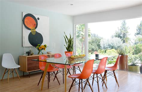 mid century dining room mid century modern fireplace dining room midcentury with