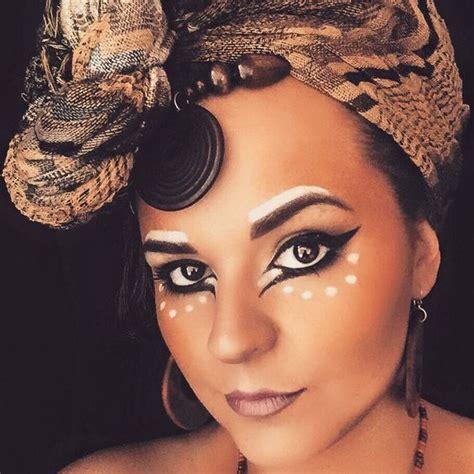 nala lion king makeup lion king the musical inspired tribal look make up brig