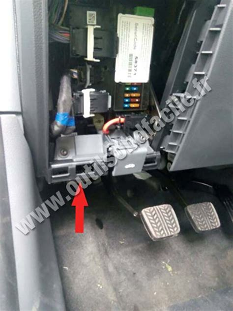 obd connector location  ford ranger