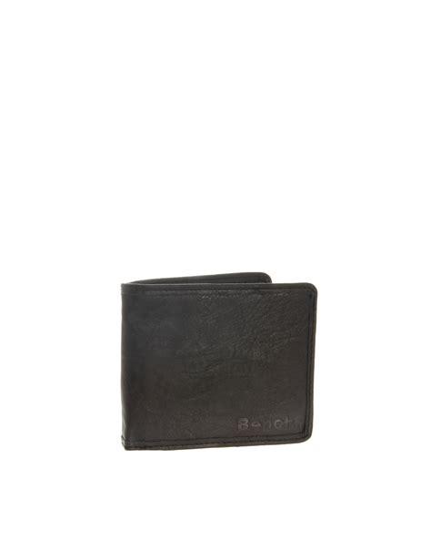 bench leather wallet bench wallet in black for men lyst