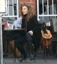 Hair Dryer For Curly Hair Boots annalynne mccord ditches usual to let hair go in ringlets during lunch