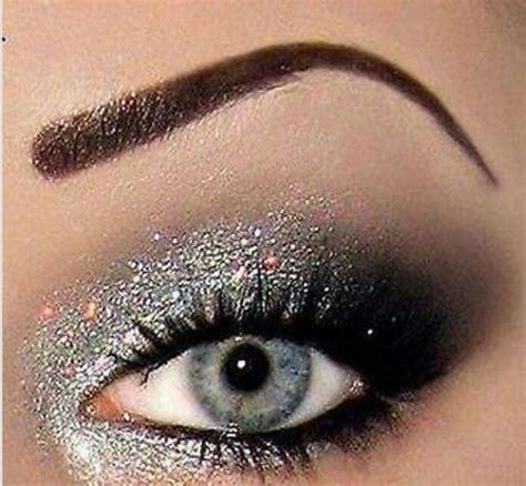 Eyeshadow Glitter Make Sparkly Makeup Pretty Sparkly