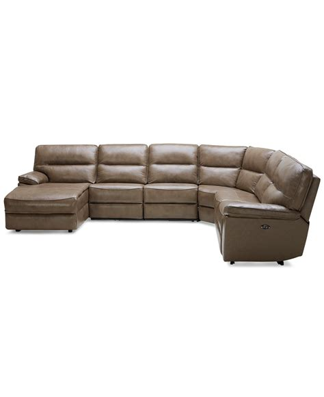 Best Of Brandie Leather 5 Piece Sectional Sofa With 3 5 Sectional Sofa