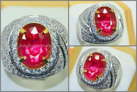 Ruby 6 17crt No Heat Madagaskar batu mulia ruby burma cristal code rbc 097 nama