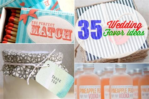 How To Make Wedding Giveaways - 35 cute and easy to make wedding favor ideas