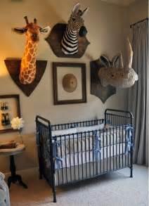 chic and safari nursery