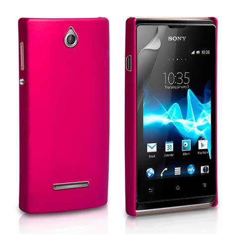 Sony Xperia E1 Hitam yousave accessories sony xperia e hybrid pink