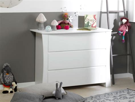 commode bebe blanche commode chambre enfant blanche paco
