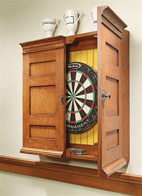 Outdoor Dartboard Cabinet Plans