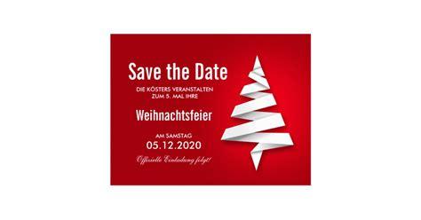 Muster Einladung Weihnachtsfeier Weihnachtsfeier Einladung Vorlage Save The Date Postkarten Zazzle