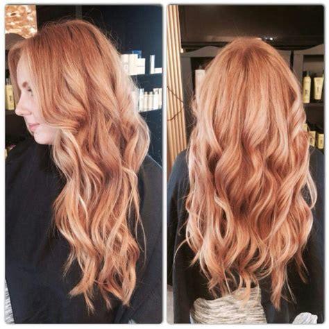 blonde hairstyles balayage red hair with blonde balayage fabulous hair pinterest
