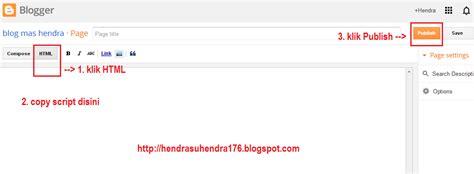 cara membuat daftar isi html cara membuat daftar isi di blog blog mas hendra