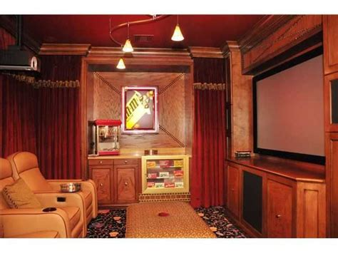 popcorn machine candy drawer home theater