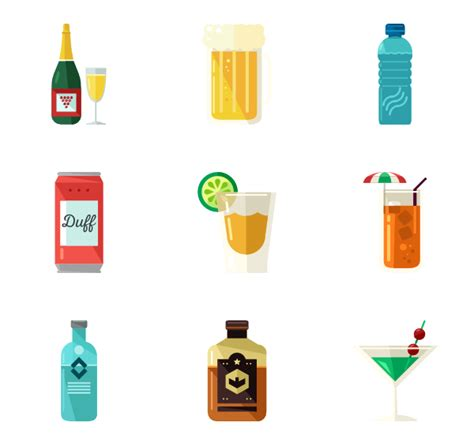 drink icon png beverage icons 1 551 free vector icons