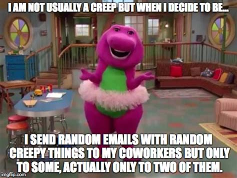 Barney Meme - barney pics caption pictures to pin on pinterest pinsdaddy