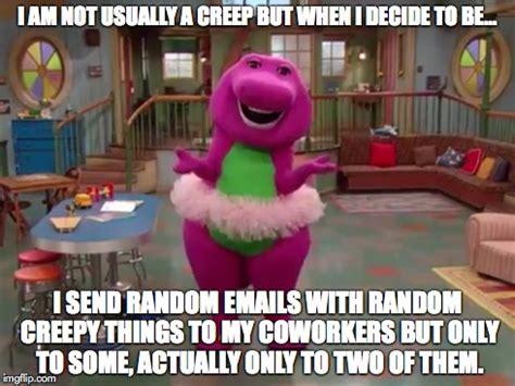 Barney Meme - barney imgflip