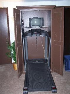 Treadmill Armoire by Treadmill Armoire