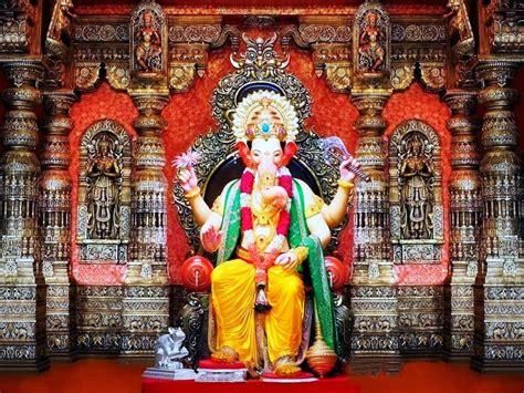 full hd video raja lalbaugcha raja hd wallpapers hindu god wallpaper