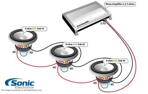 4 Ohm Dual Voice Coil Subwoofer Wiring Diagram Fuse Box