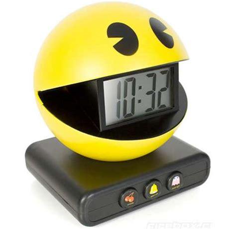retro arcade clocks pac man alarm clock