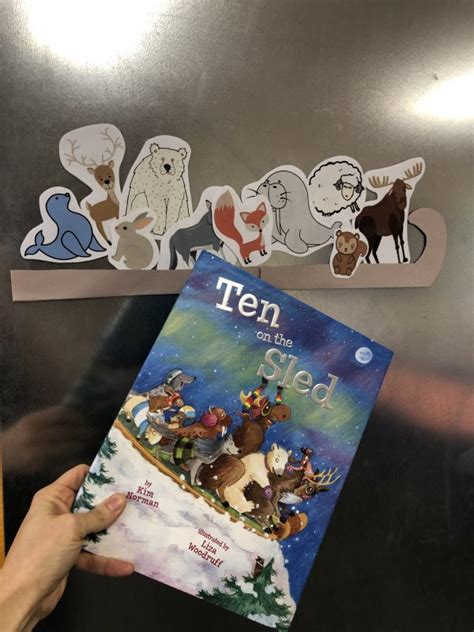 ten   sled  printables  circle time  time  flash cards