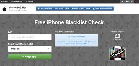 free iphone imei blacklist checker osxiosexpert