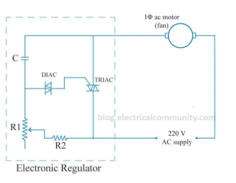 capacitor based fan regulator circuit how does a fan speed regulator work quora