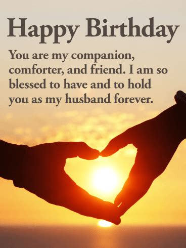 message for my husband you are my everything happy birthday wishes card for