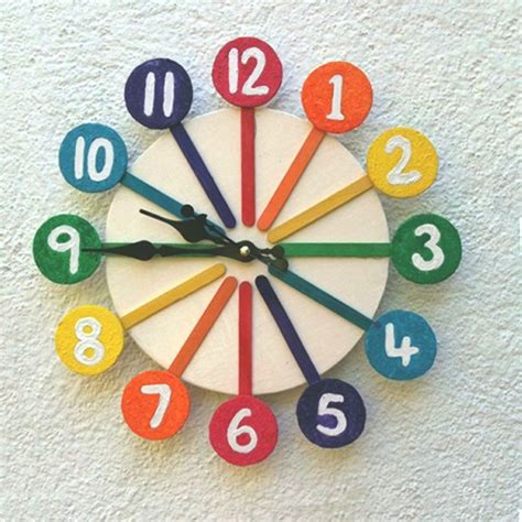 Simple Craft Ideas For Home Decor Recycled Modern Wall Clock Ideas Recycled Things