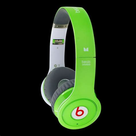 Detox Dr Dre Green Letters by Beats Headphones Outlet Store Cheap Beats By Dre
