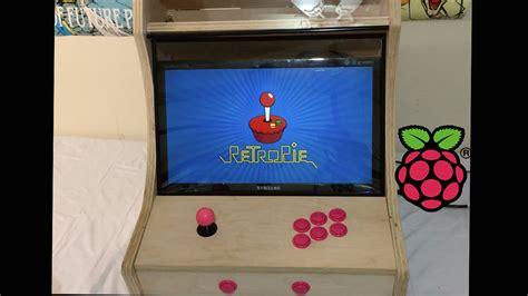 Bartop Arcade Raspberry Pi Bartop Arcade Cabinet Build Powered By Raspberry Pi 1 2 3