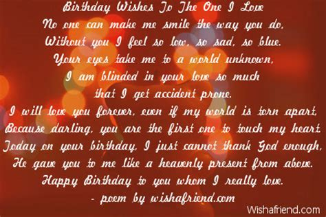 Lovely Birthday Quotes To Your Loved Ones Love Birthday Poems