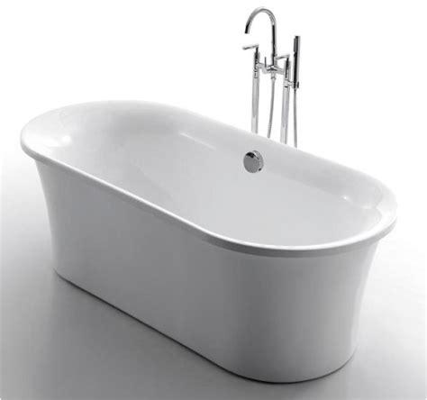 bathtub freestanding modern lazio acrylic modern freestanding soaking bathtub 71