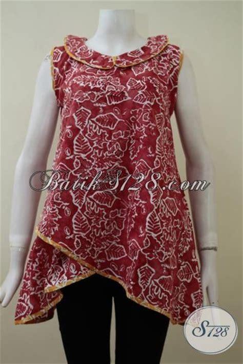 desain baju batik remaja putri dress batik masa kini yang lebih girly dan modia busana