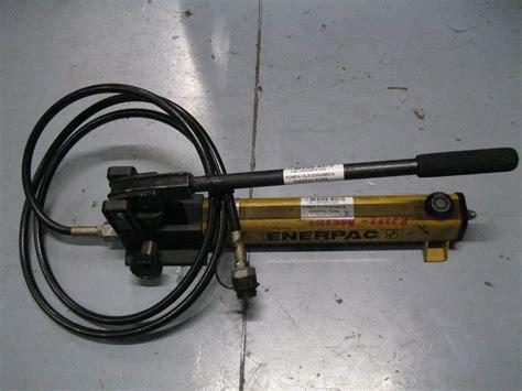Pompa Enerpac Pompa Oleodinamica Enerpac P2282 2800 Bar Usata Usato