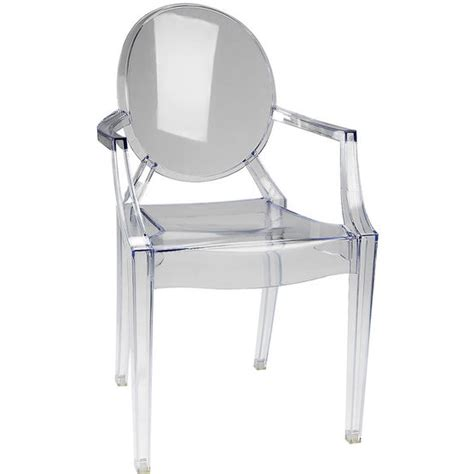 Ghost Chair by Drugs Ghost Chair Clear 58 X 53 X 91 5cm